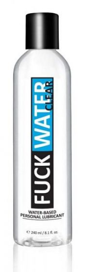 F*ck Water Clear H2O Water Based Lubricant 8oz – FWC8