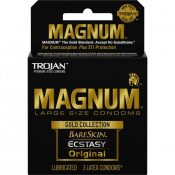 Trojan Magnum Large Size Condoms Gold Collection 3 Pack – T01987