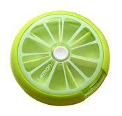 [Lemon] Cute Round Pill Box Pill Cases Pill Organiser – BC-HEA3764251-EMMA01206
