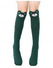 Summer Children Tube Socks Girls Underwear Socks / Knee Socks,Dark Green – DS-HEA13106351-MINT00299