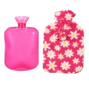 Classic Rubber Hot or Cold Water Bottle with Soft Fleece Cover (2 Liters,A7) – DS-HEA3763901-MINT02145