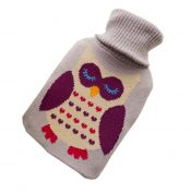 Transparent Classic Rubber Hot Water Bottle 2 Liter with Knit Cover – Gary – DS-HEA3763901-MINT02161