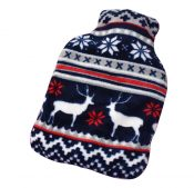1L Hot Water Bottle Classic Premium Hot Rubber Bag with Soft Cover, A1 – DS-HEA3763901-MINT02173