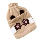 1L Hot Water Bottle Classic Premium Hot Rubber Bag with Soft Cover, Cat – DS-HEA3763901-MINT02185