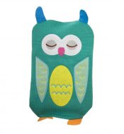 1L Hot Water Bottle Classic Premium Hot Rubber Bag with Soft Cover, Owl, A8 – DS-HEA3763901-MINT02188