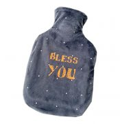 Hot Water Bottle 1000ML With Random Cover Perfect for Quick Pain Relief – DS-HEA3763901-MINT02396