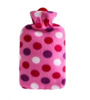 1.8 Liter Classic Rubber Hot Water Bottle +  Soft Fleece Cover(Cover May Random) – DS-HEA3763901-MINT02934