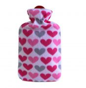 1.8L Classic Rubber Hot Water Bottle With Warm items (Cover May Random) – DS-HEA3763901-MINT02936
