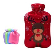 High-quality Lovely Cartoon Cat Hot Water Bottle,Large With Flannel Cover,Red – DS-HEA3763901-RAY00632