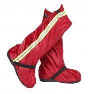 High Tube Rain Boots Cover Thick Wear-Resistant Non-slip Shoe Cover,Red – DS-HEA3780121-AIMEE02747