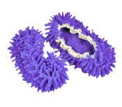Home Shoe Covers, Floor Slippers Covers, A Pair Of Purple Shoe Covers – DS-HEA3780121-AIMEE02758