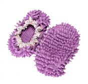 Thick Padded Slippers Shoe Cover, Warm Mopping Shoe Cover (Pink) – DS-HEA3780121-AIMEE02761