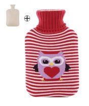 Classic Hot Water Bottle 2 Liter with Lovely Owl – EM-HEA3763901-ARIEL01560