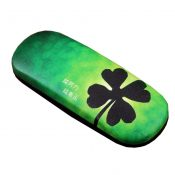 Glasses Case Clover Pattern Hard Protective Clam Shell Glasses Box  #3 – EM-HEA4044171-WENDY02893