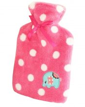 Lovely Elephant  Hot Water Bottle With Cover-Red – GJ-HEA3763901-FLORA00221