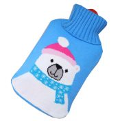 Safe PVC Hot Water Bottle With Detachable Knitted Fabric Cover Hot Therapies 1.8 Litre(Bear) – GJ-HEA3763901-LITTLE00361