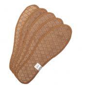 Running Shoe Insoles Shoe Inserts Shoe Cushions Five Pairs Cotton Brown – GM-HEA3780121-CHLOE00189