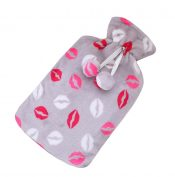 [Gray] Big Hot Water Bottle Cute Hot Water Bag Hot Water Bottle With Cover – GY-HEA3763901-ERIC03672