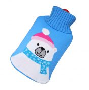 [Bear] Big Hot Water Bottle Cute Hot Water Bag Hot Water Bottle With Cover – GY-HEA3763901-ERIC03677