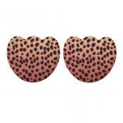 3 Pairs Girl Skid-Proof Forefoot Pads Shoe Insoles, Wine Red Leopard – KE-HEA3780101-AMANDA01863