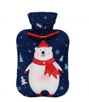 2 Liter Cute Hot Water Bottle, Winter Hot Water Bag With Flannel Cover #18 – ST-HEA3763901-ERIC00388