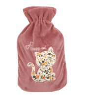 2 Liter Cute Hot Water Bottle, Winter Hot Water Bag With Flannel Cover #30 – ST-HEA3763901-ERIC00400