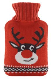 hot water bottle rubber Hot or Cold Water Bag with Soft Fleece Cover 1 Liters#22 – WK-HEA3763901-CHLOE00822