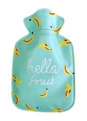 Warm Classic 0.1 L Hot Water Bottle cute cartoon Safe Water-filled, Light Green (Banana) – WK-HEA3763901-LYDIA00562