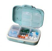 Pill Case/Box Portable Travel Medicine Organizer for Medication and Vitamin, Large compartment #43 – WK-HEA3764251-KRIS00896