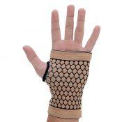 Pair of Elastic Palm Support Wrist Gloves Brace Hand Protector Gym Sports – Khak – KE-SPO13106341-JASMINE00532