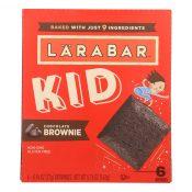 Larabar – Bar Kids Chocolate Brownie – Case of 8-6/.96 oz – 2268100