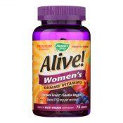 Nature's Way – Alive! Women's Multi-Vitamin Gummies – 75 Gummies – 1283332