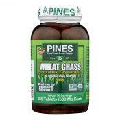 Pines International Wheat Grass – 500 mg – 250 Tablets – 0715029