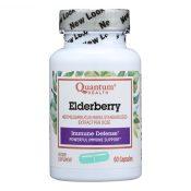 Quantum Elderberry Immune Defense Extract – 400 mg – 60 Capsules – 0441824