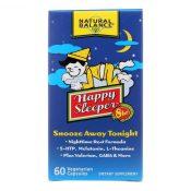 Natural Balance Happy Sleeper – 60 Vegetarian Capsules – 0928317