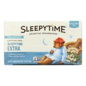 Celestial Seasonings Sleepytime Herbal Tea Caffeine Free – 20 Tea Bags – Case of 6 – 0105338