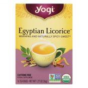 Yogi Egyptian Licorice – Case of 6 – 16 Bags – 1862622