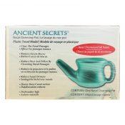 Ancient Secrets Nasal Cleansing Neti Pot – Plastic – 1 Pot – 0499863