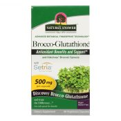 Nature's Answer – Brocco-Glutathione – 60 Vegetarian Capsules – 1620194