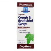 Boericke and Tafel – Cough and Bronchial Syrup – 8 fl oz – 0157420