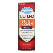 Hylands Homeopathic Defend – Cold and Cough – 4 Fl oz. – 1774397