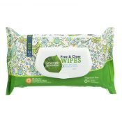 Seventh Generation Baby Wipes – Free and Clear – 64 ct – Case of 12 – 1152313