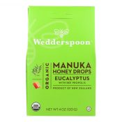 Wedderspoon Drops – Organic – Manuka Honey – Eucalyptus – 4 oz – 1835412