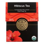 Buddha Teas – Organic Tea – Hibiscus – Case of 6 – 18 Count – 1876465