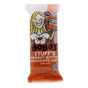 Bobo's Oat Bars – Oat Bar – Peanut Butter Filled Chocolate Chip – Case of 12 – 2.5 oz – 2060408