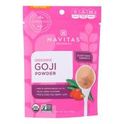 Navitas Naturals Goji Berry Powder – Organic – Freeze-Dried – 4 oz – case of 12 – 1271055