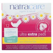 Natracare Ultra Extra Pads w/wings – Normal –  12 Count – 1600071