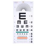 Plastic Eye Test Chart, Tumbling E Case Pack 3 – 2169531