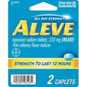Aleve – 2 Caplets Case Pack 12 – 1945191