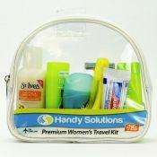 Handy Solutions Premium Women's Travel Kit Case Pack 12 – 1868335
